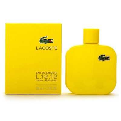 Lacoste L.12.12 Yellow (Jaune) for men EDT 100ml