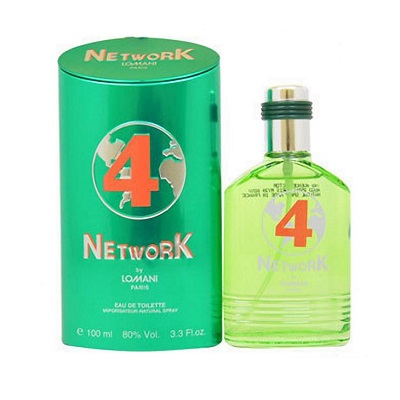 Lomani Network 4 For Men EDT 100ml