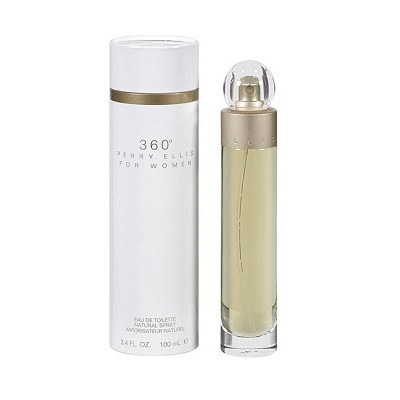 Perry Ellis 360 White For Women EDT 100ml