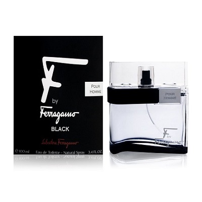 Salvatore Ferragamo F By Ferragamo Black For Men EDT 100ml