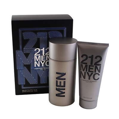(Gift Set) Carolina Herrera 212 For Men