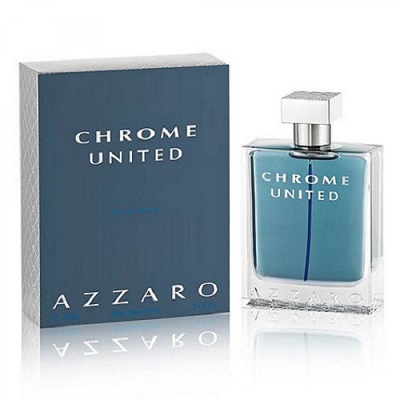 Azzaro Chrome United For Men EDT 50ml