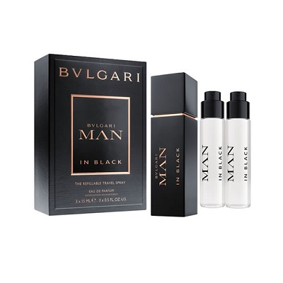 Bvlagri Man In Black The Refillable Travel Spray Isi 3