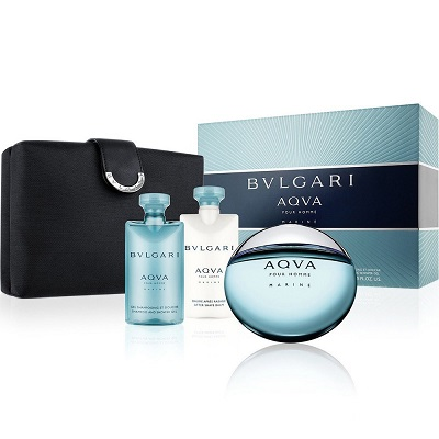 (Giftset) Bvlgari Aqua For Men