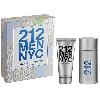 (giftset) Carolina Herrera 212 men