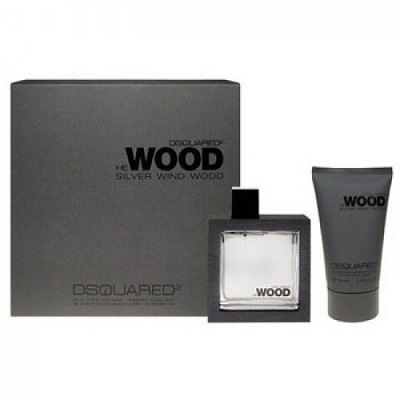 (Giftset) Dsquared2 He Wood Silver Wind Wood for Men