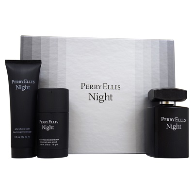 (GiftSet) Perry Ellis Night For Men EDT
