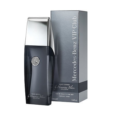 Mercedes Benz  VIP Club Black Leather By Honorine Blanc EDT 100ml