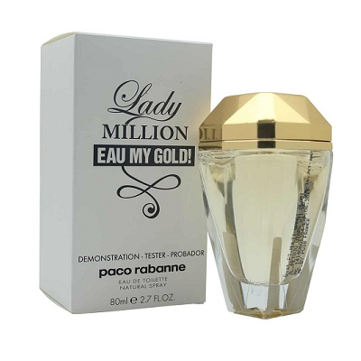 Paco Rabanne Lady Million Eau My Gold EDT 80ml (Tester)