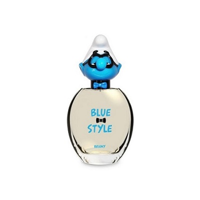 The Smurfs Blue Style 3-D Collection Brainy Unisex EDT 50ml (tester)