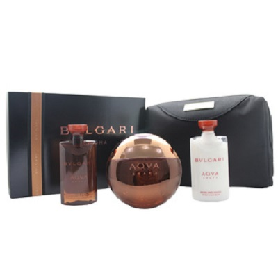 (Giftset) Bvlgari Aqva Amara For Men
